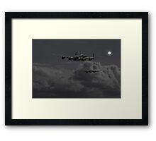 Lancaster - 'Night Hunter' Framed Print