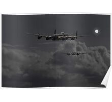 Lancaster - 'Night Hunter' Poster