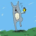 singing rabbit by MooieVogel