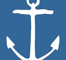 Anchor (White) by theshirtshops