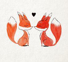 Fox Love by mustashleigh