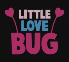 Little love bug with cute little antennae matching big love bug One Piece - Long Sleeve