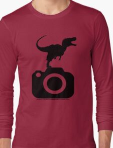 Photography - Dinosaur TShirt Long Sleeve T-Shirt
