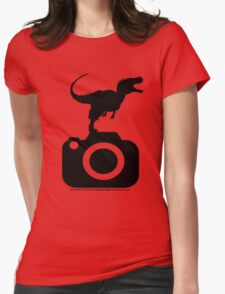 Photography - Dinosaur TShirt Womens Fitted T-Shirt