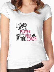 Player - T Women's Fitted Scoop T-Shirt
