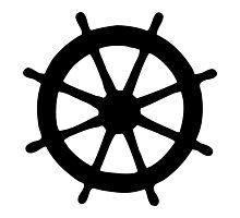 Steering Wheel Photographic Print