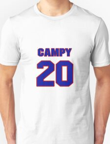 Basketball player Campy Russell jersey 20 T-Shirt