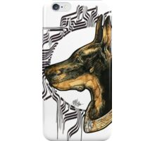 - Black Dog -  iPhone Case/Skin