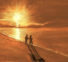 On Golden Sands by Dawn B Davies-McIninch