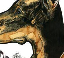 - Black Dog -  Sticker