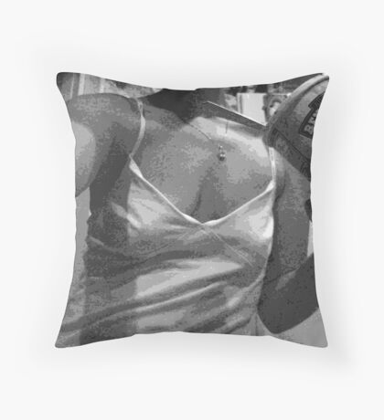 midnight snack II Throw Pillow