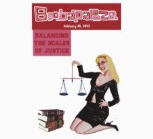 Boobapalooza: Balancing the Scales of Justice T-Shirt