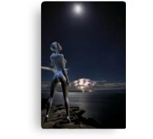 Moongoddess Canvas Print