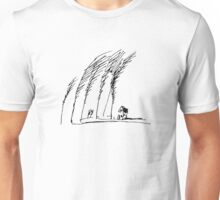 Trees and House Unisex T-Shirt