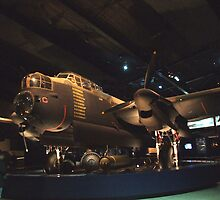 Lancaster Bomber- War Memorial Canberra by SharonD