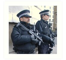 Armed Officers Art Print