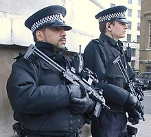 Armed Officers by snapperjack