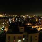 Nocturne panorama by Lior Goldenberg