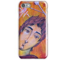 San Sebastian on Wall iPhone Case/Skin