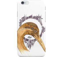 Airone - coffee and ink -  iPhone Case/Skin