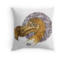 Dodo - coffee and ink - Throw Pillow