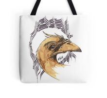 bird of paradice - coffee and ink - Tote Bag