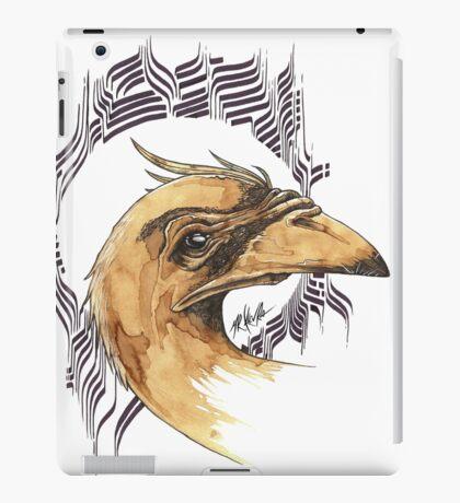 bird of paradice - coffee and ink - iPad Case/Skin