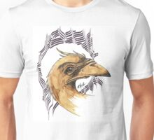 bird of paradice - coffee and ink - Unisex T-Shirt