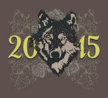 FADED WOLF 2015 by LadyEvil