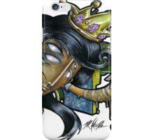 black queen  iPhone Case/Skin