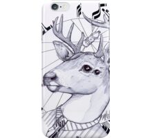 deer in dress code  iPhone Case/Skin