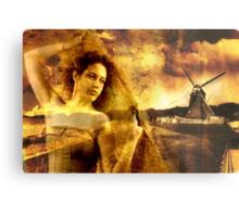 The Windmills of Your Mind Metal Print