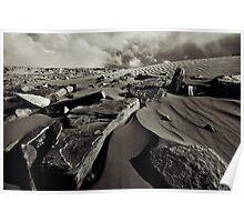 Dune Rocks Poster