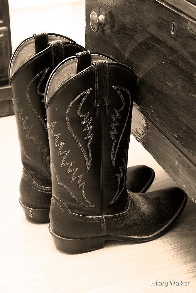 Grandpa's Boots by Hilary Walker