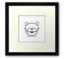 Hug Me Inekuma ! Framed Print