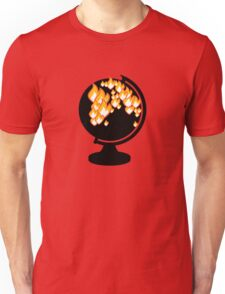 We burned it. T-Shirt