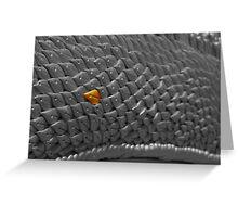 Dragon scale Greeting Card