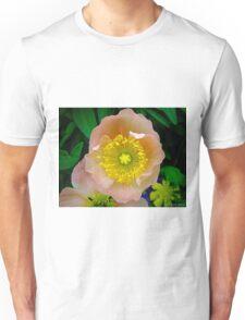 pink & yellow flower Unisex T-Shirt