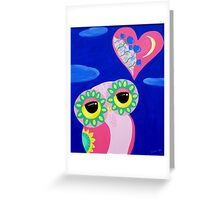Midnight Song Greeting Card