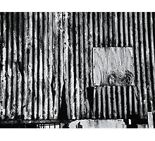Dereliction in Mono Photographic Print