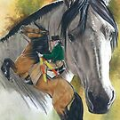 Lusitano by BarbBarcikKeith