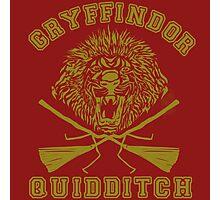 Gryffindor Quidditch Photographic Print