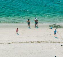 Beach Scene 2 Sticker