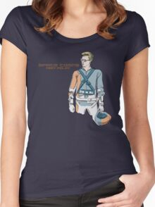 SPACECORPS:TESTPILOT Women's Fitted Scoop T-Shirt