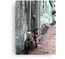 Italy Bicycles  Metal Print