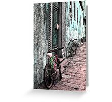 Italy Bicycles  Greeting Card