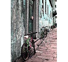 Italy Bicycles  Photographic Print