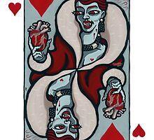 Vampire Queen of Hearts by pixbyr