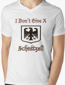 I Don't Give A Schnitzel! Mens V-Neck T-Shirt