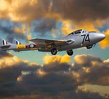 de Havilland Vampire T11 by yeamanphoto